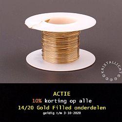 10% korting op gold filled